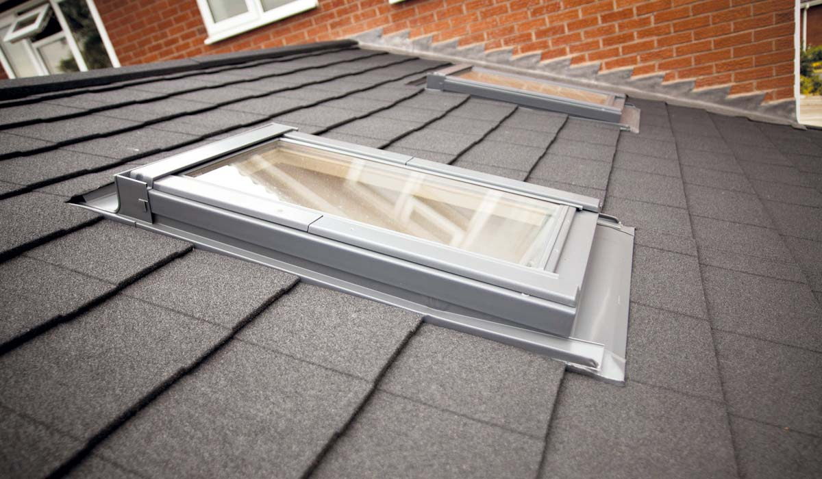 Conservatory Roof with Rooflight