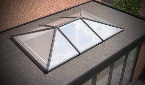 Aluminium Supalite Lantern Roof