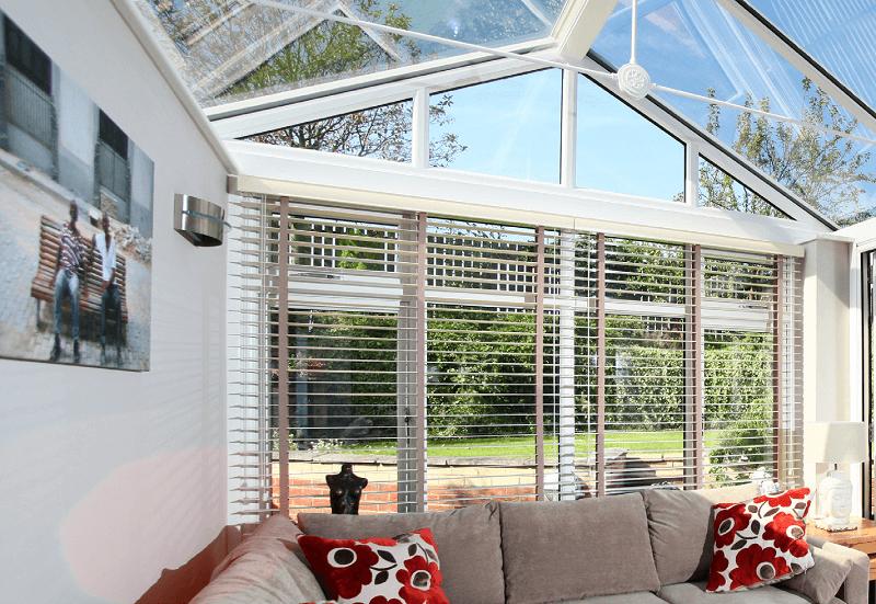 Liniar conservatory roof external